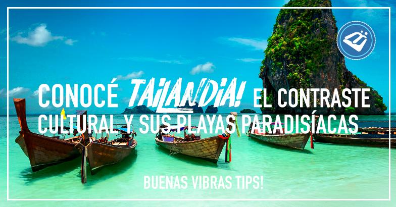 Si salir de vacaciones es tu plan, a Tailandia tienes que ir. Este es un país que posee unas exuberantes playas y una población mayoritariamente creyente en la religión del budismo