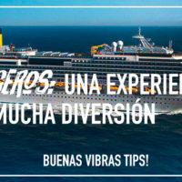 Cruceros: una experiencia con mucha diversión