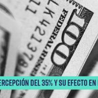 Nueva percepción del 35% y su efecto en los viajes