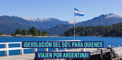 50% de reintegro para quienes viajen por Argentina