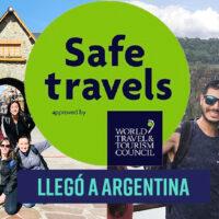 El sello internacional SAFE TRAVELS llegó a Argentina.